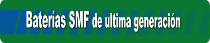 Bater�as SMF de ultima generaci�n